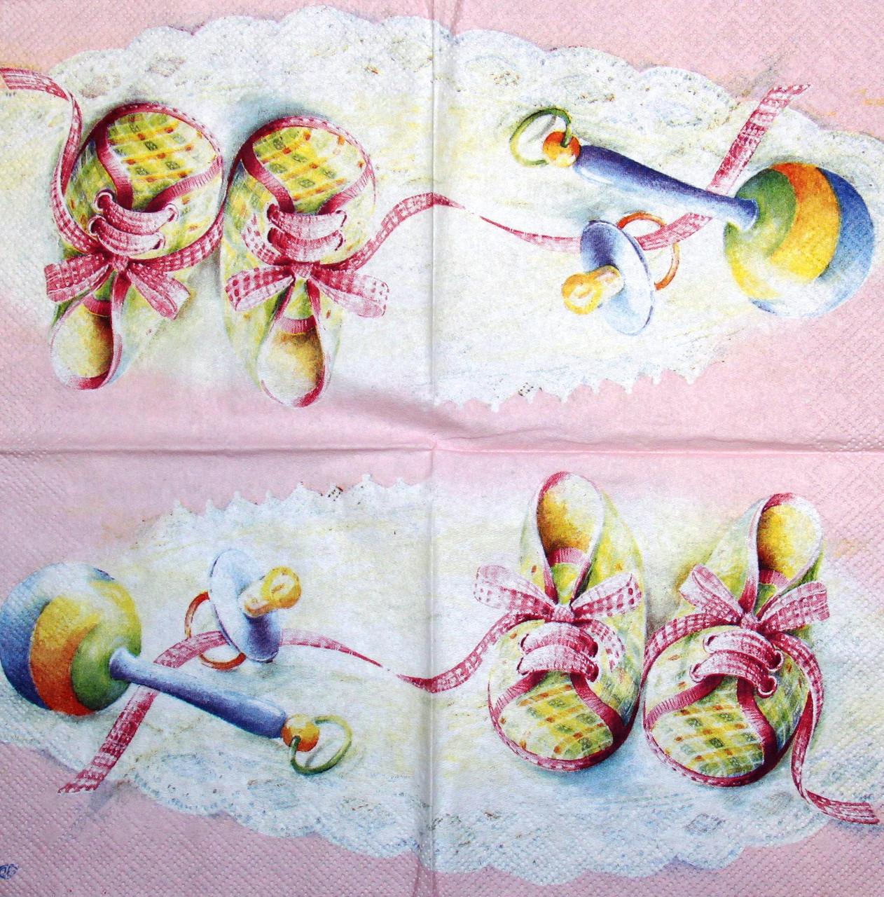 Декупажная салфетка Детская для девочки 352