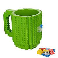 Чашка конструктор Зеленая