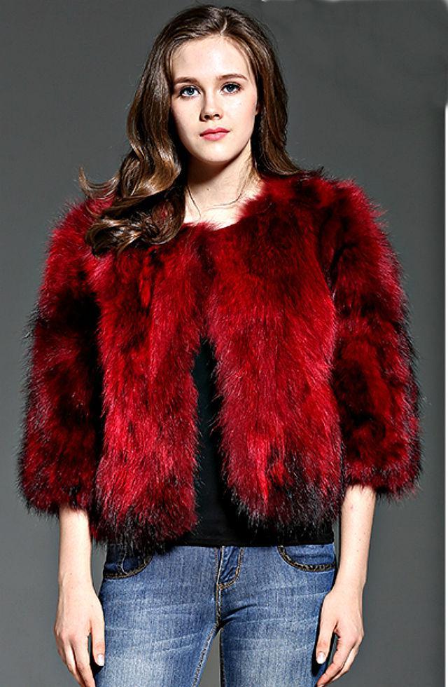 Женские зимние куртки с натуральногомехаенота.