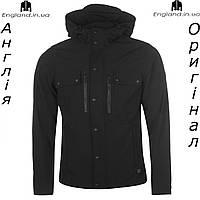 Куртка Firetrap черная весенняя с капюшоном | Куртка Firetrap чорна весняна