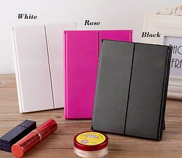 LED Зеркало для макияжа в виде книжечки (Черное), фото 2