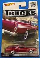 Коллекционная машинка Hot Wheels Ford Ranchero '72