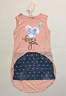 Платье для девочек 104-134 см