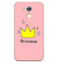 Чехол силиконовый бампер для Huawei honor 6A с картинкой принцесса