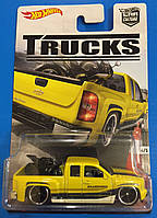 Коллекционная машинка Hot Wheels Chevy Silverado