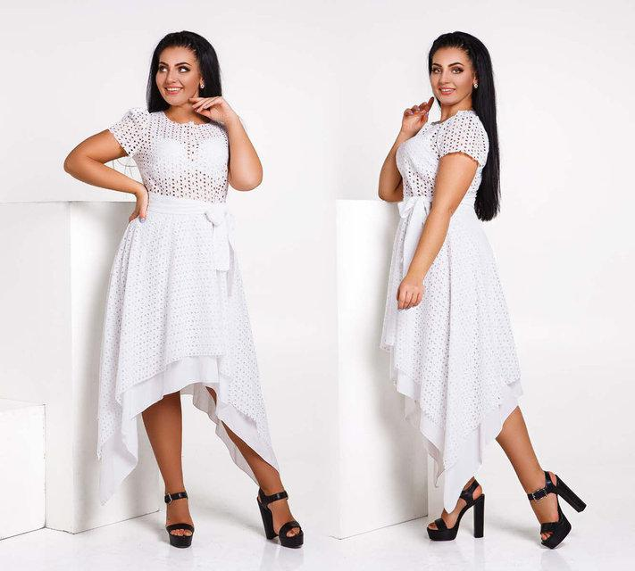 88bd1058164 Элегантное летнее женское платье до больших размеров