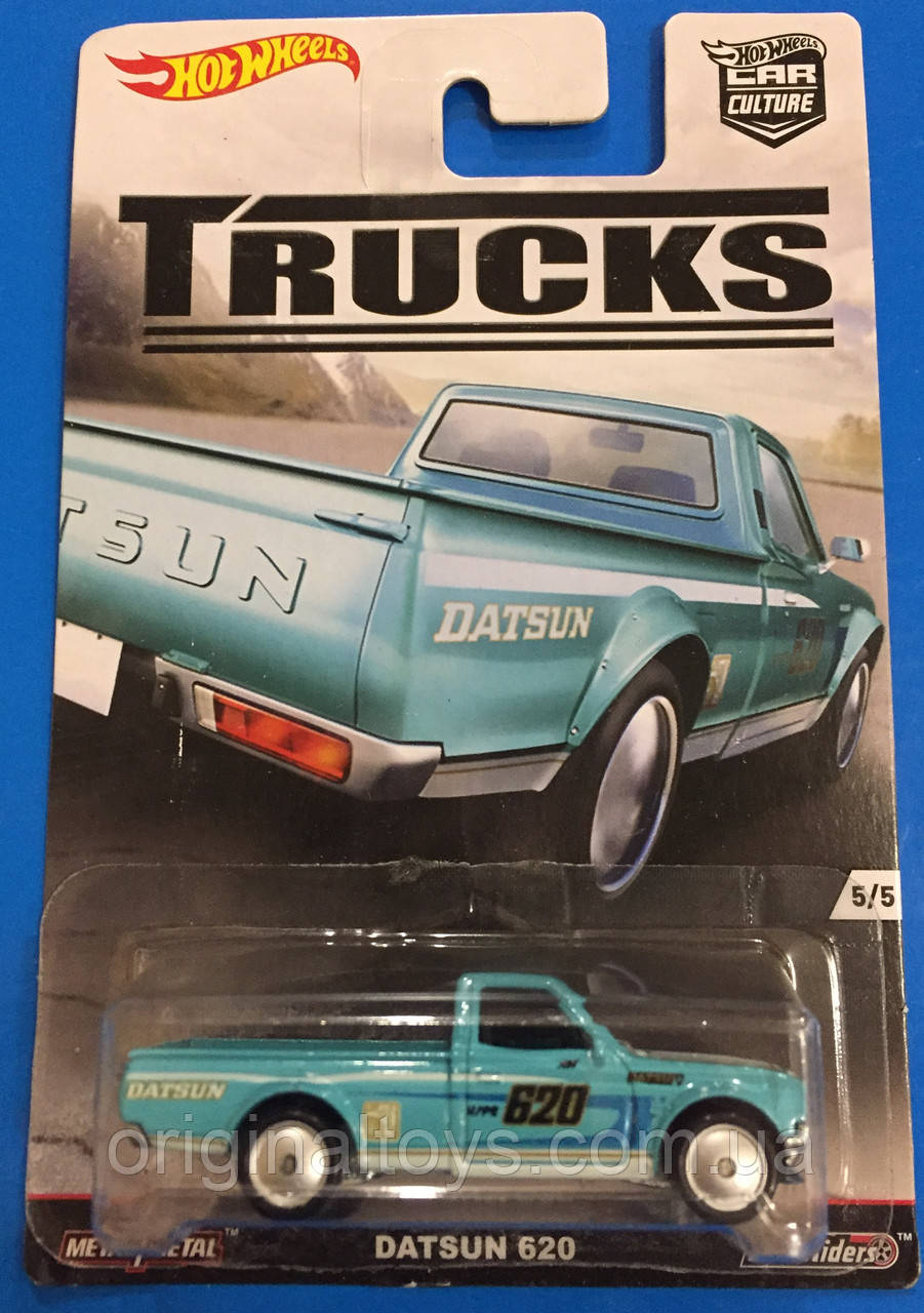 Коллекционная машинка Hot Wheels Datsun 620