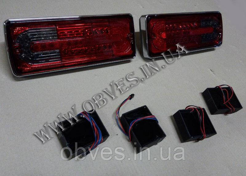 Задние фонари Mercedes G-class W463 (LED SMOKE)