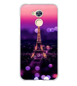 Панель накладка силиконовая для Huawei honor 6A с рисунком Париж вечерний