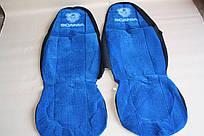 Чехлы на сиденья Scania синие