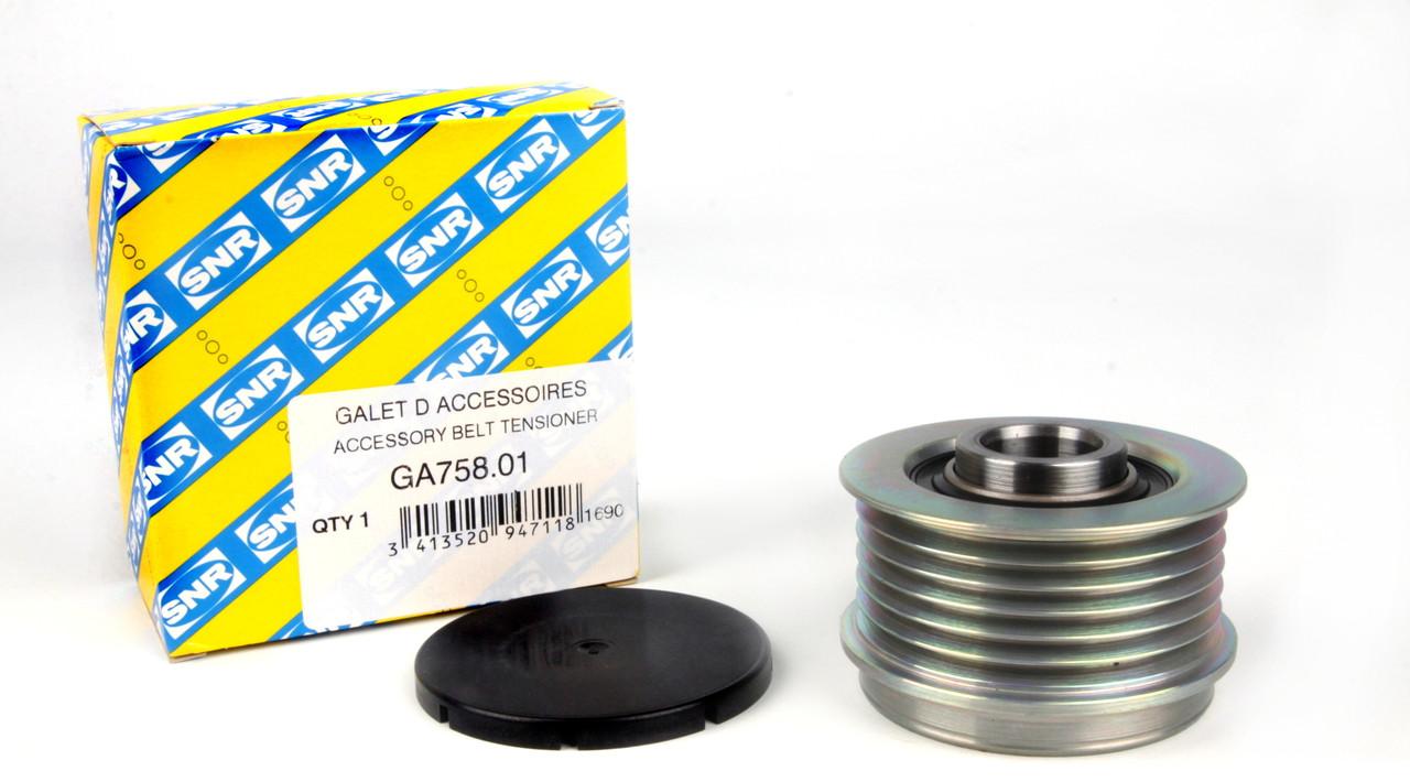 Шкив генератора Fiat Doblo 1.3 JTD (+AC), Opel Combo 1.3 CDTI