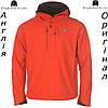 Куртка ветровка Karrimor красная с капюшоном | Куртка Karrimor червона