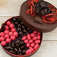 """Набор элитных шоколадных конфет """"Дражелино"""". Размер: Ø165х50мм, вес 400г, фото 1"""