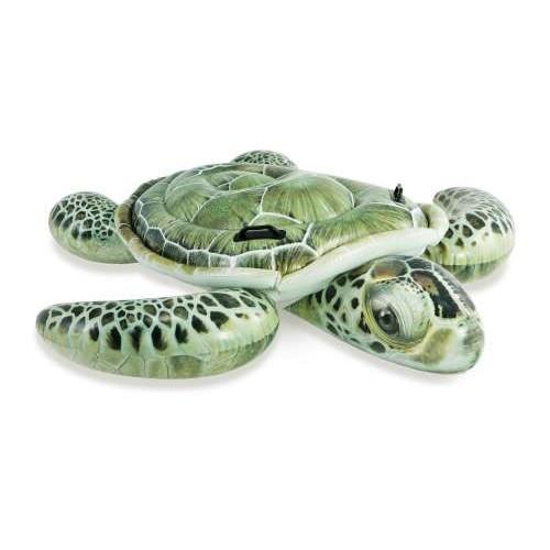 Детский надувной плотик Intex Морская Черепаха 191х170 см (57555)