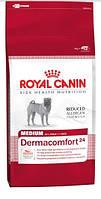 Корм Royal Canin (Роял Канин) MEDIUM DERMACOMFORT для собак средних пород с чувствительной кожей, 3  кг