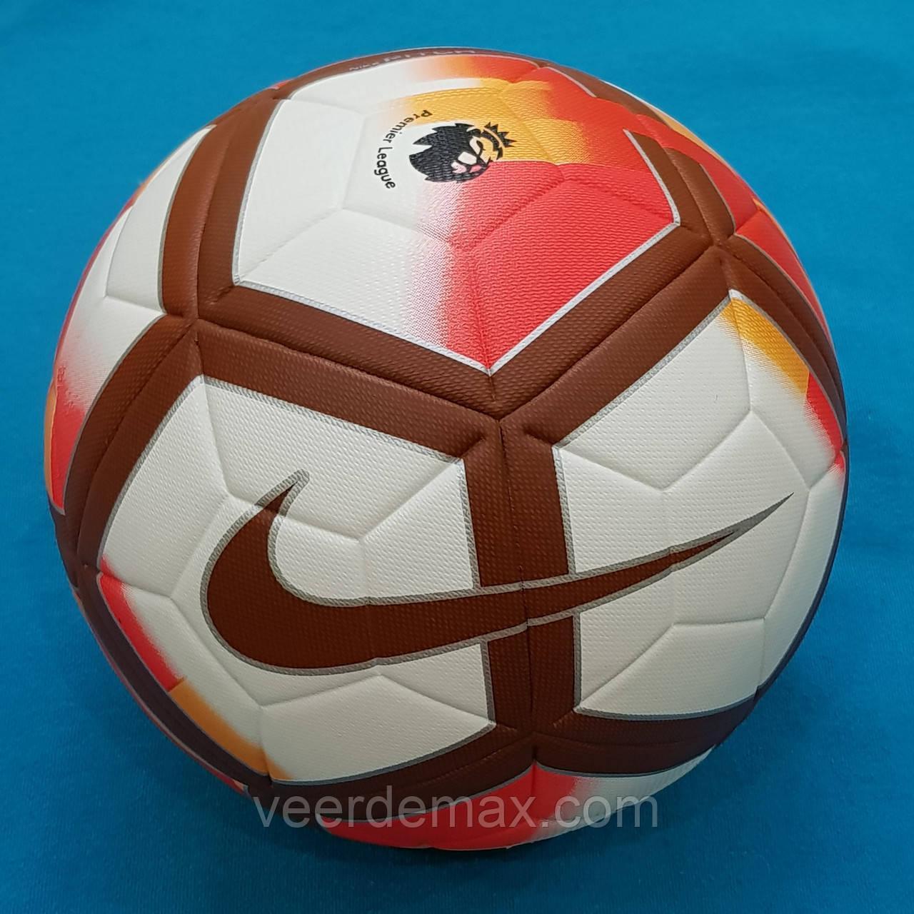 Мяч футбольный Nike Pitch Premier League (бело-коричневый)