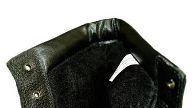 Берцы комбинированные кирза,кожа утепленные Мех, фото 2