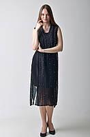 Брендовое черное платье Amodediosa