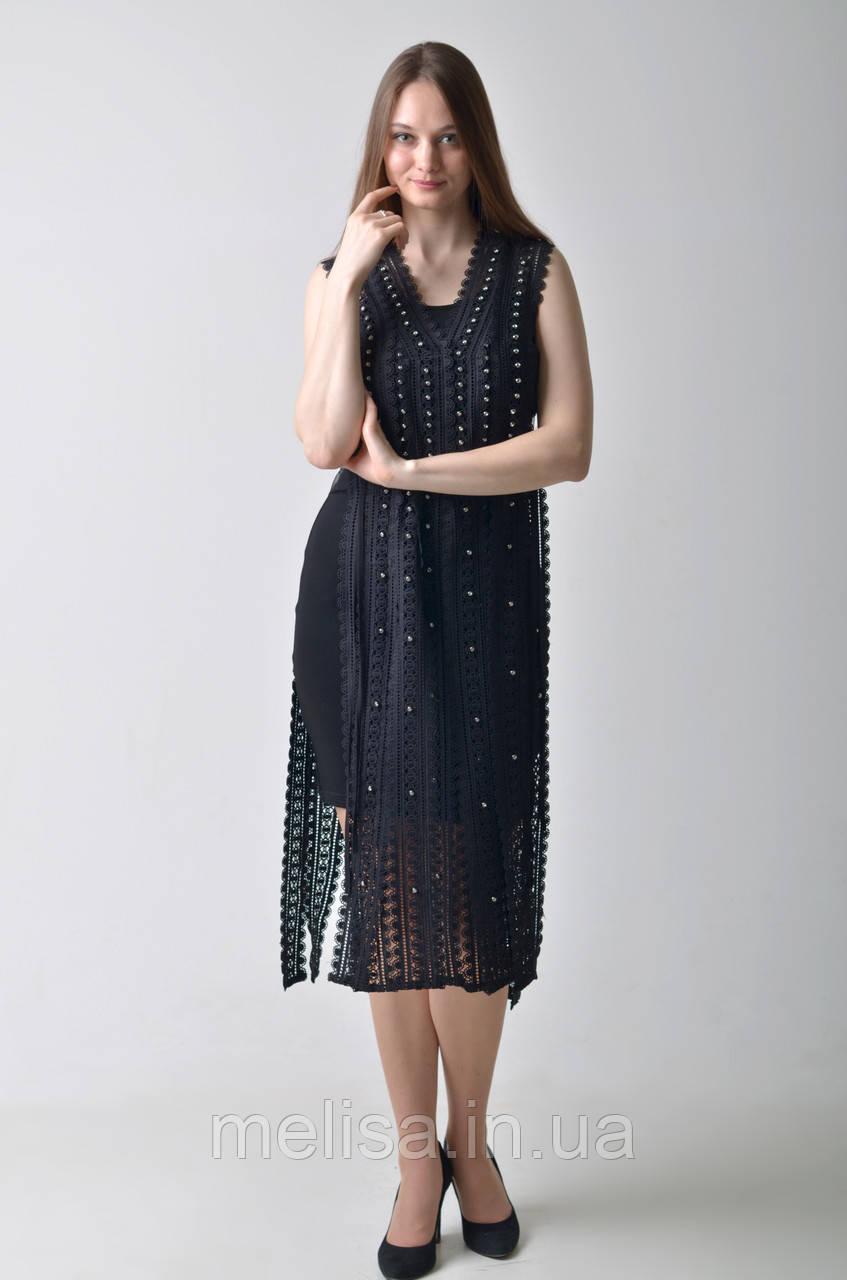67af714c6bb Брендовое черное платье Amodediosa - Интернет магазин женской одежды Melisa  в Харькове