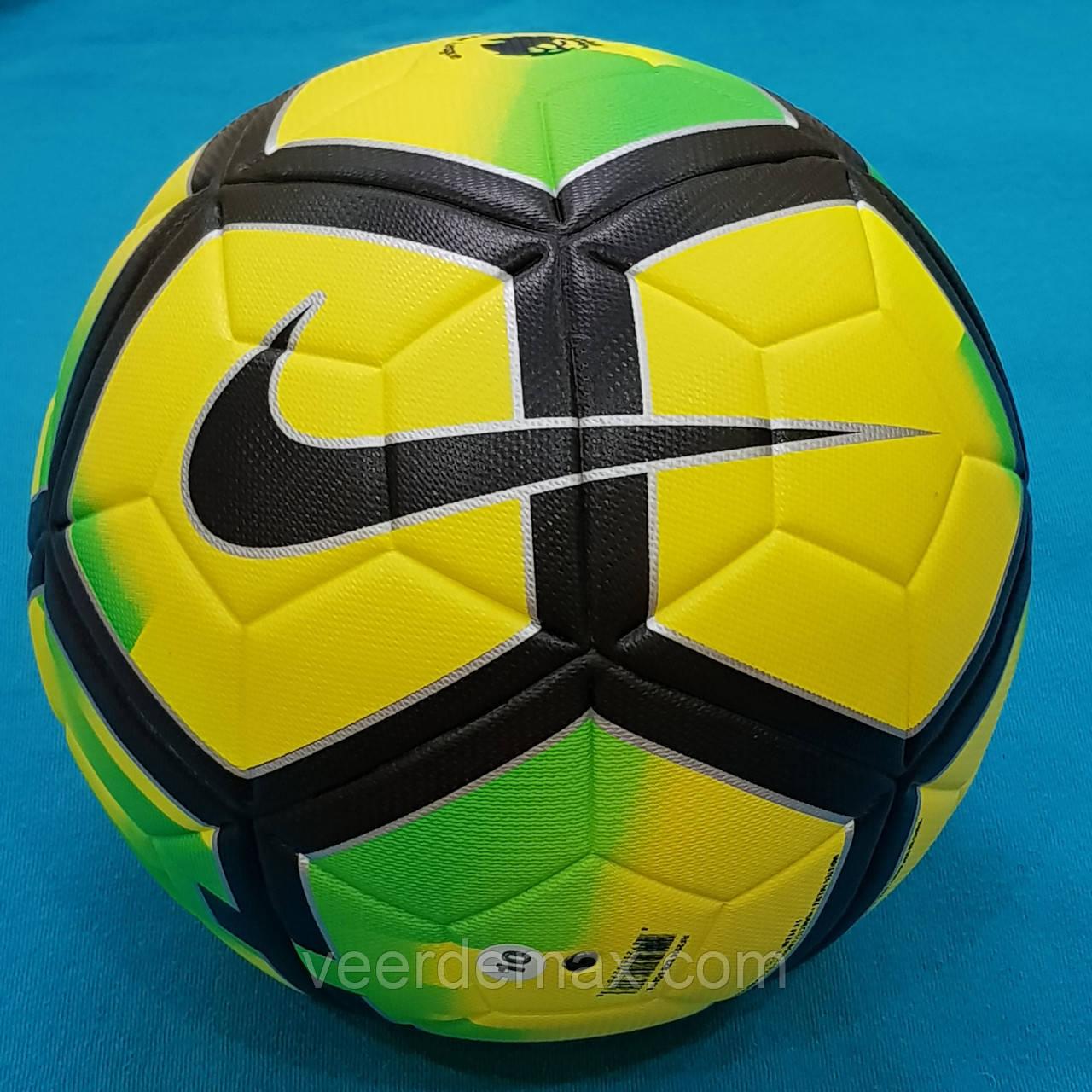 Мяч футбольный Nike Pitch Premier League (желто-зеленый)