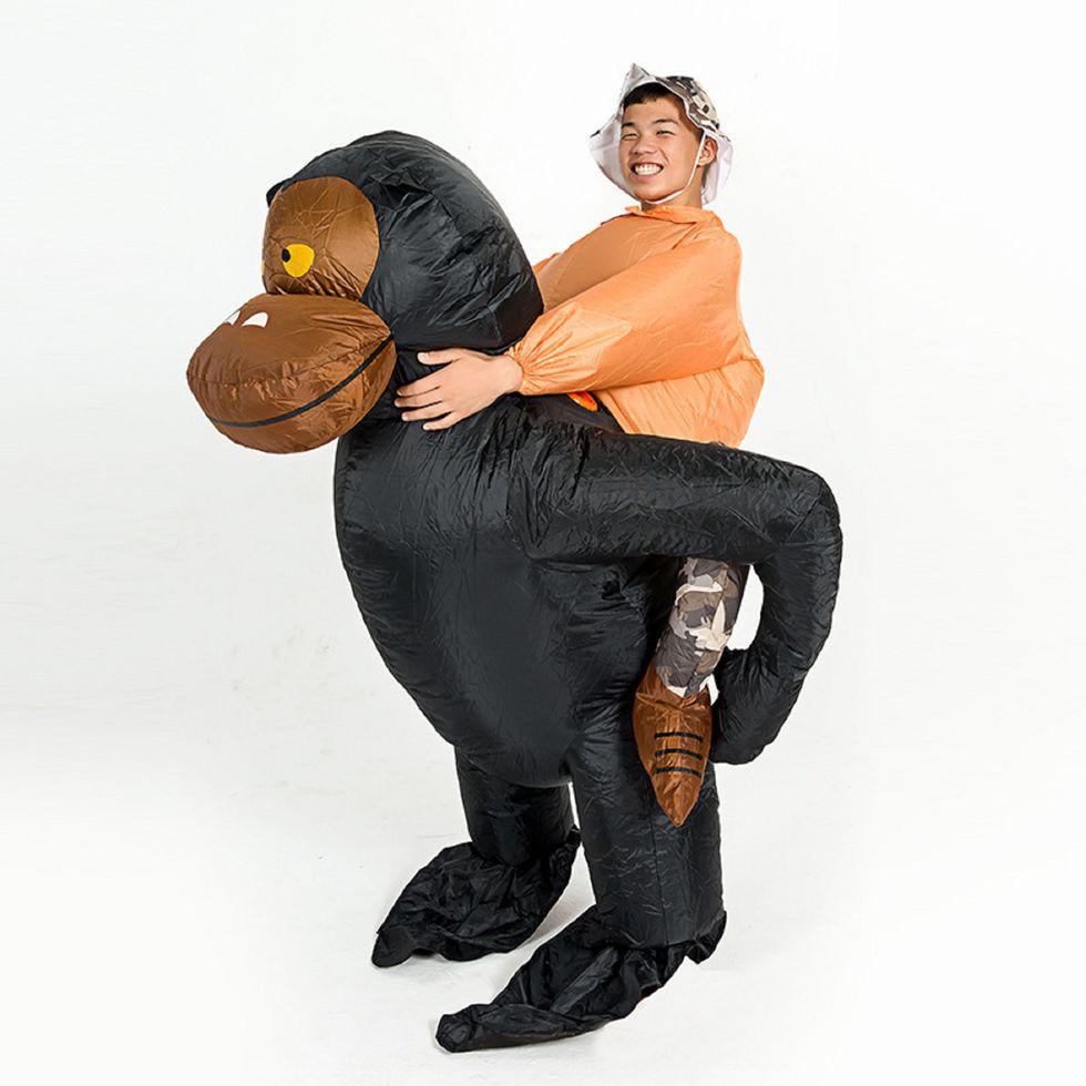 Карнавальный надувной костюм для взрослых-\