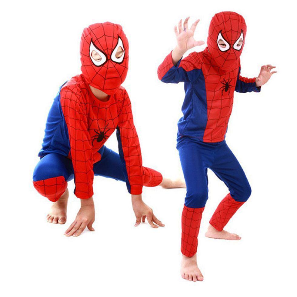 Костюмы человек-паук-(Супермен) детский день рождения