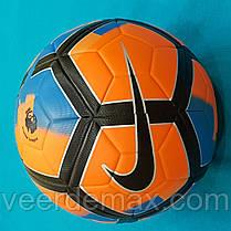Мяч футбольный Nike Pitch Premier League (оранж-синий)