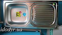 Мойка кухонная Teka EBM 45 врезная из нержавеющей стали , фото 1