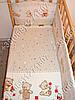 """Детское постельное белье в кроватку """"Карапуз"""" комплект 6 ед. (мишка игрушки бежевый), фото 2"""