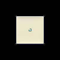 Клавиша выключателя с подсветкой Valena Life Legrand, цвет слоновая кость