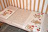 """Детское постельное белье в кроватку """"Карапуз"""" комплект 5 ед. (мишка игрушки бежевый), фото 4"""