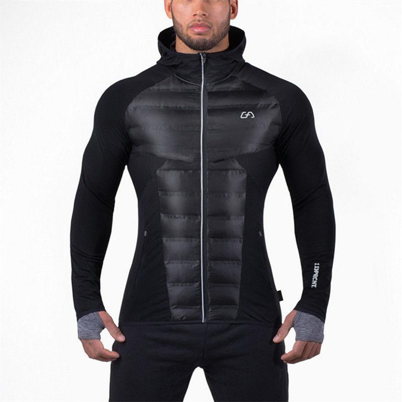 Модная мужская повседневная стеганая куртка