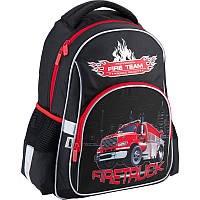 0015c9d80a74 Рюкзак для мальчиков школьный Kite на 1-3 классы Firetruck K18-513S ...