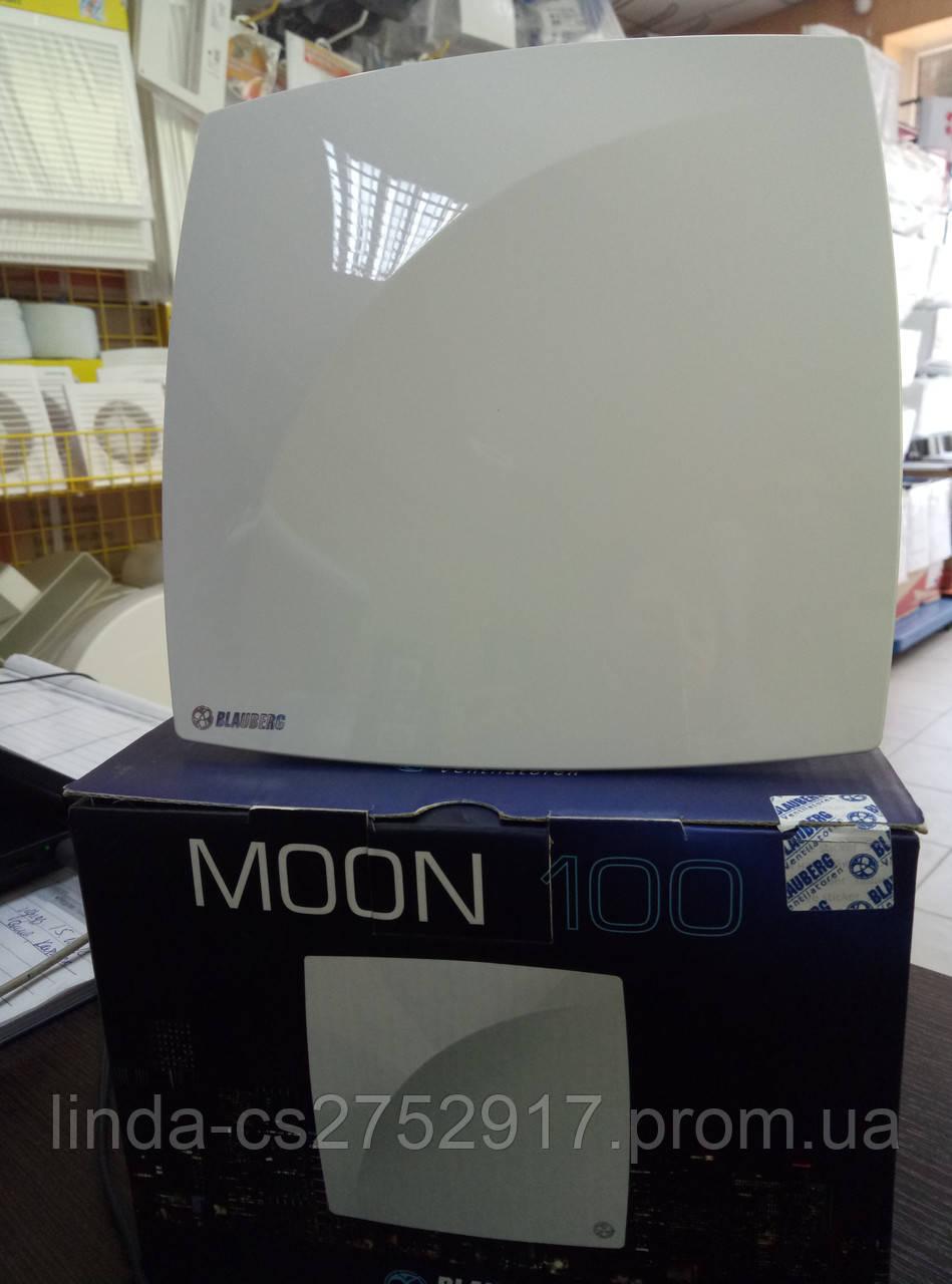 Вентилятор бытовой Blauberg Moon 100, вентилятор на шариковом подшипнике, тихий вентилятор