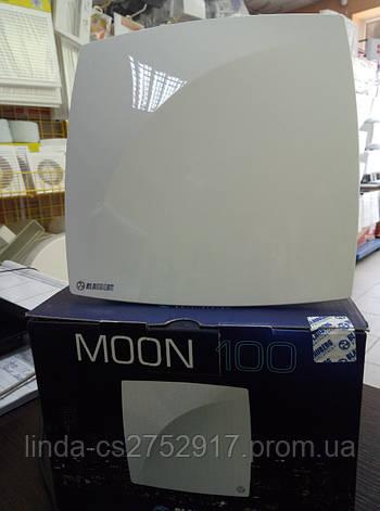 Вентилятор бытовой Blauberg Moon 100, вентилятор на шариковом подшипнике, тихий вентилятор, фото 2