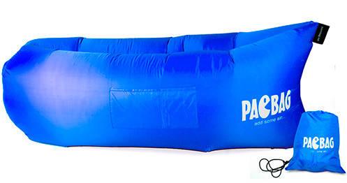 Надувной лежак Ламзак / lamzac -  PacBag Синий, фото 2