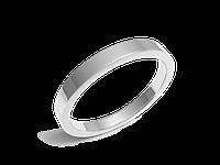 Кольцо обручальное Twin Set One белое золото - № 200-0129