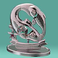"""Знак зодиака """"Рыбы"""" CCrystocraft  0268-001 SL"""