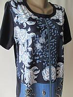 Жіночі трикотажні сукні для дому та відпочинку., фото 1