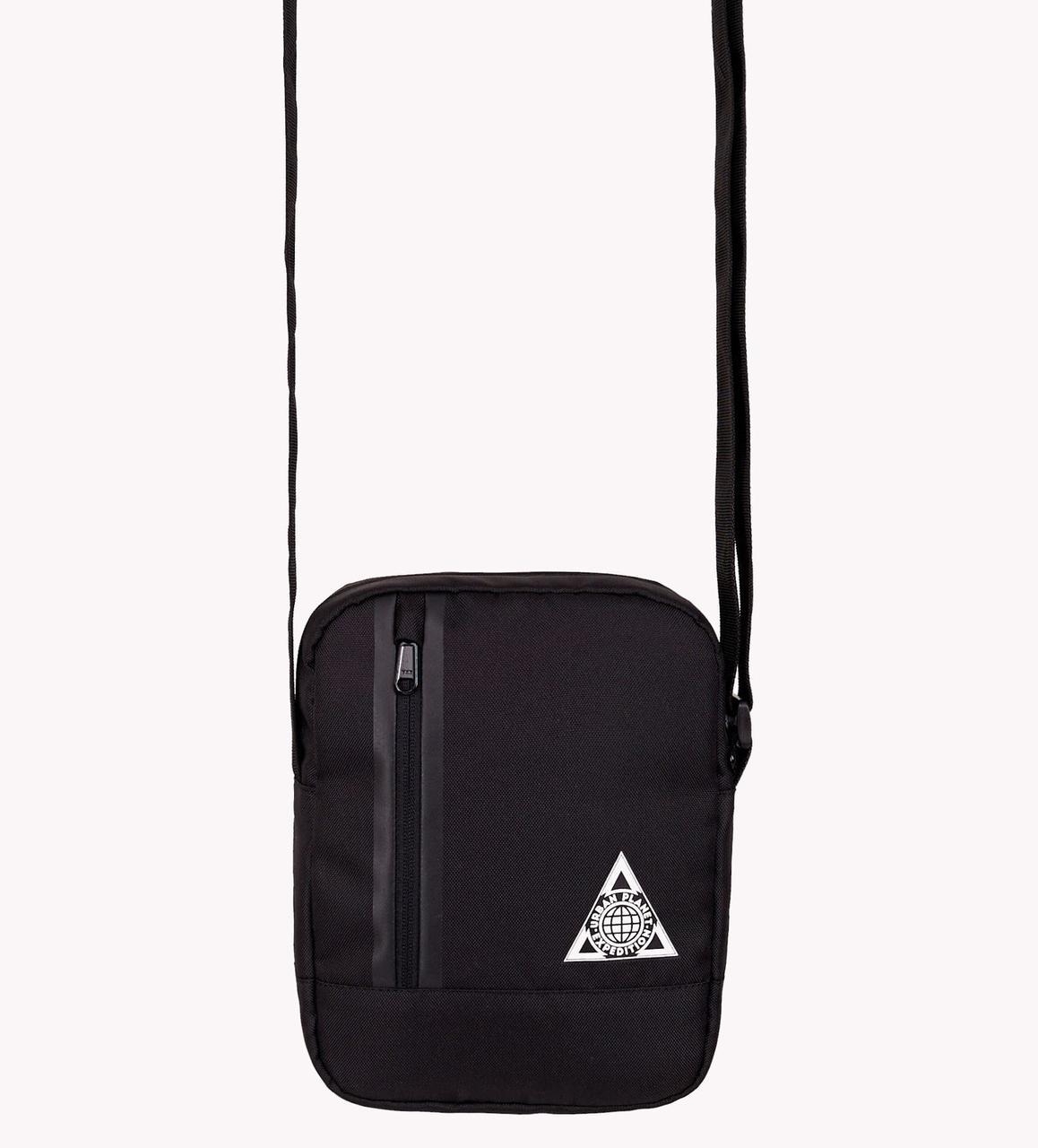 c8668ef0077c Мужская черная сумка через плечо Urban Planet M5 BLACK - интернет-магазин