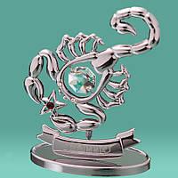 """Знак зодиака """"Скорпион"""" Crystocraft  0264-001 SL"""