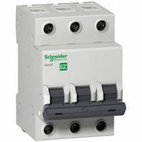 Автоматический выключатель EASY9, 3P, 16A, C Schneider Electric