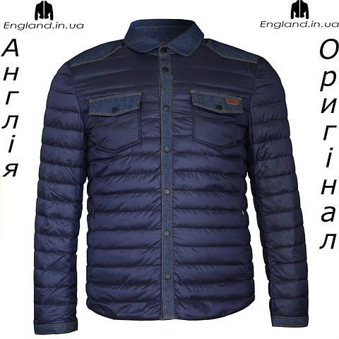 Куртка  Lee Cooper весняно-осенняя стеганая темносиняя | Куртка Lee Cooper весняно-осіння темносиня
