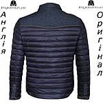 Куртка  Lee Cooper весняно-осенняя стеганая темносиняя | Куртка Lee Cooper весняно-осіння темносиня, фото 2