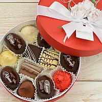 """Набор элитных шоколадных конфет """"Феерия вкуса"""". Размер: Ø165х50мм, вес 360г, фото 1"""