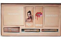 Набір для макіяжу Kylie (Кайлі) KKW Beauty 7в1 бежевий, фото 1
