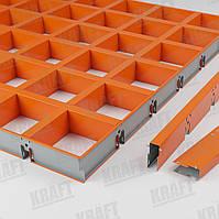 Підвісні стелі KRAFT грильято касетного типу GLK 15