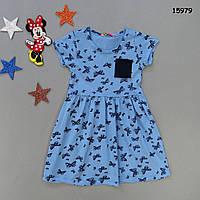 """Летнее платье """"Бабочки"""" для девочки.  , фото 1"""