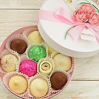 """Набор элитных шоколадных конфет """"Палитра вкуса"""". Размер: Ø165х50мм, вес 210г, фото 1"""