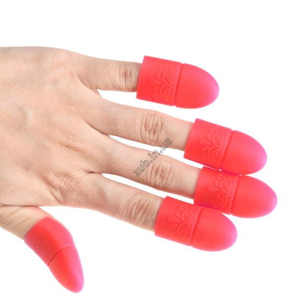 Колпачки силиконовые для снятия гель-лака 5 шт.